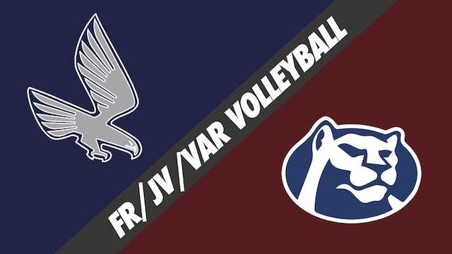 Fr, JV, & Varsity Volleyball: Episcop...