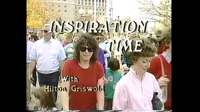 Inspiration Time with Hilton Griswold - Episode 4