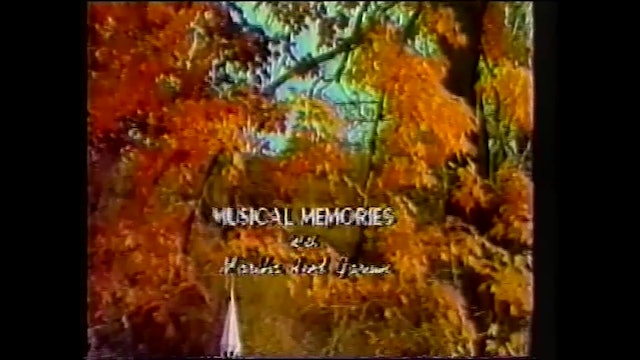 Southern Gospel Songs 2 - Musical Memories with Martha Reed Garvin