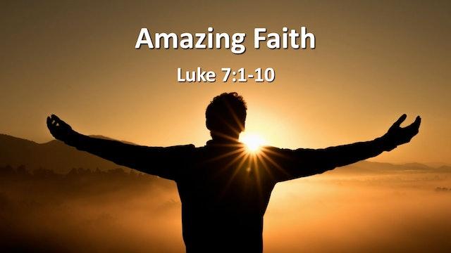 "At Calvary ""Amazing Faith"""