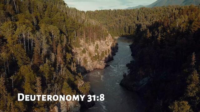 The WORD - Deuteronomy 31:8 - Fountainview Academy