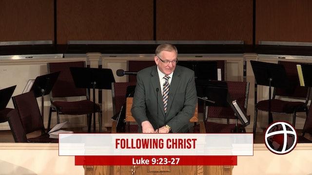 """At Calvary """"Following Christ"""""""