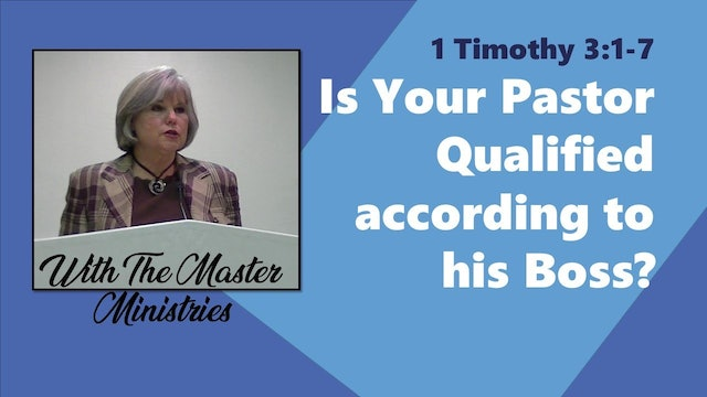 Is Your Pastor Qualified?