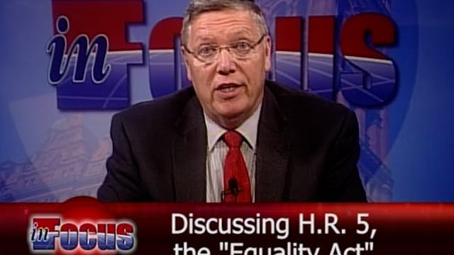 Jim Schneider: Equality Act