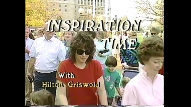 Inspiration Time with Hilton Griswold - Episode 8