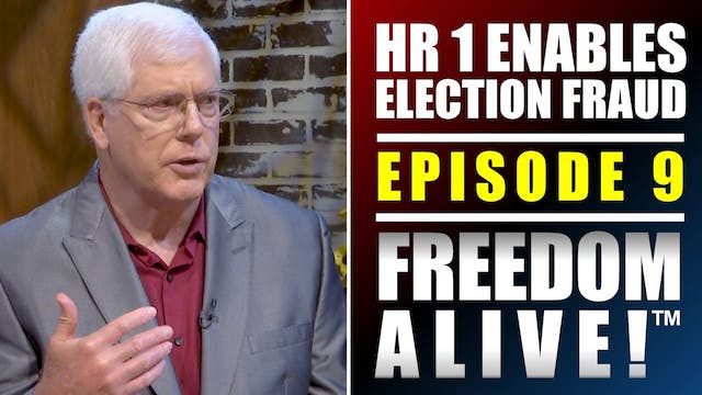 HR1 Enables Election Fraud!