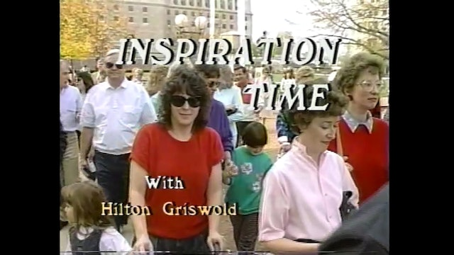 Inspiration Time with Hilton Griswold - Episode 26