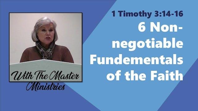 Six Non-Negotiable Fundamentals Of Th...