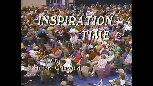 Inspiration Time with Hilton Griswold - Episode 7