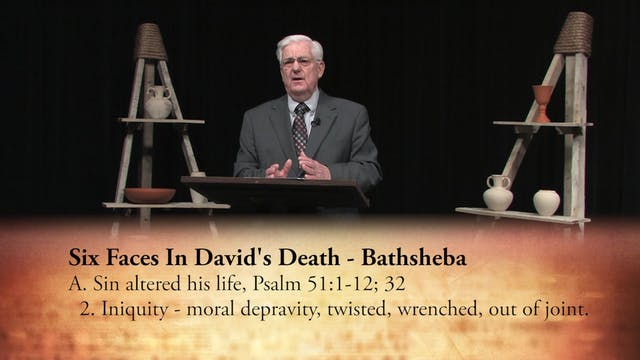 Six Faces In David's Death - Part 1