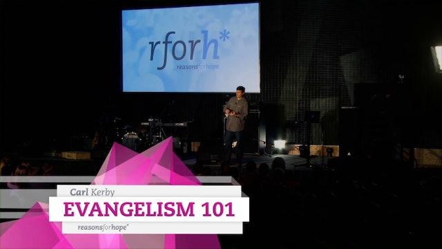 Evangelism 101 - Carl Kerby
