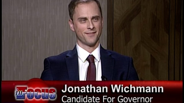 """Jonathan Wichmann """"A New Vision For Wisconsin"""""""