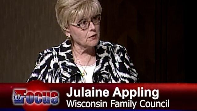 """Julaine Appling """"September 2021 Legislative Update"""""""