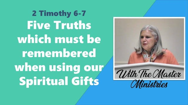 5 Truths Which Must Be Remembered Whe...