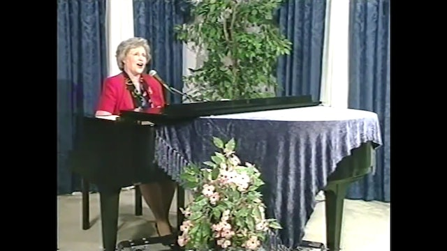 Why Do I Sing About Jesus? - Musical Memories with Martha Reed Garvin