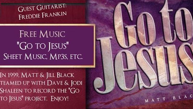 Go to Jesus by Matt Black