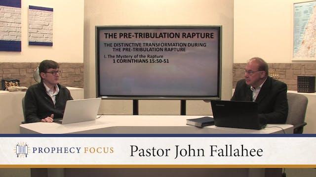 The Pre-Tribulation Rapture - Part 3