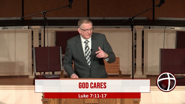 "At Calvary ""God Cares"""