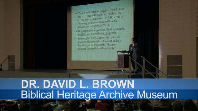 """Dr. David Brown Rally """"The Indestruct..."""