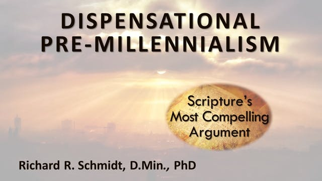 Introduction To Dispensational Pre-Mi...