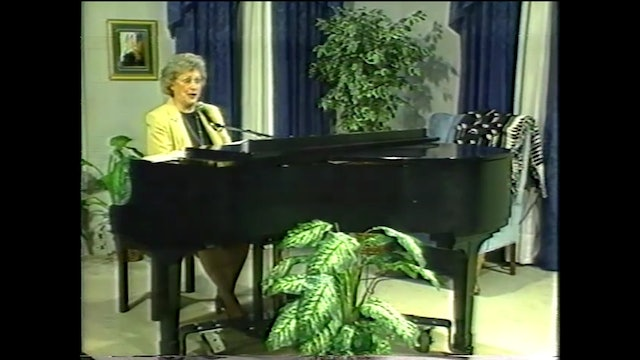 John Peterson's Songs - Musical Memories with Martha Reed Garvin