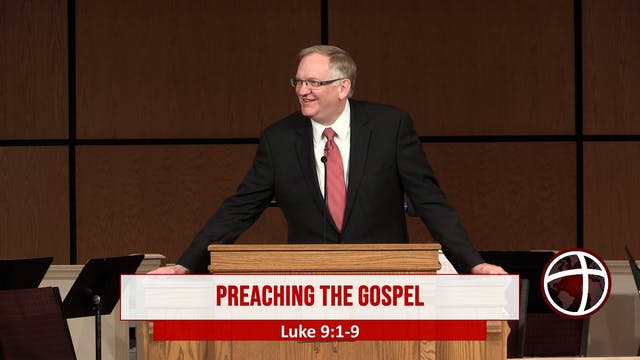 "At Calvary ""Preaching The Gospel"""