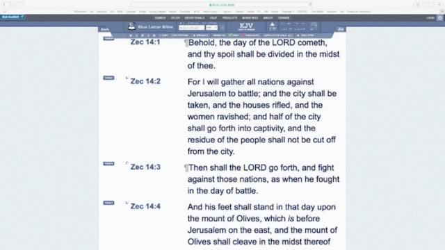 Jerusalem in Bible Prophecy 6
