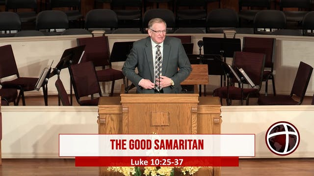 "At Calvary ""The Good Samaritan"""