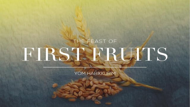The Seven Jewish Feasts: Feast Of Fir...
