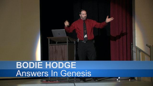 "Bodie Hodge Rally ""Creation vs. Evolution: Is Genesis Relevant?"" (2018)"