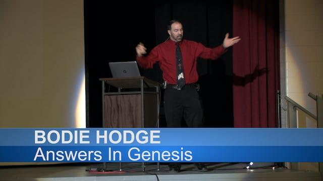 """Bodie Hodge Rally """"Creation vs. Evolu..."""