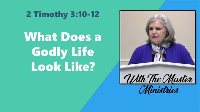 What Does A Godly Life Look Like