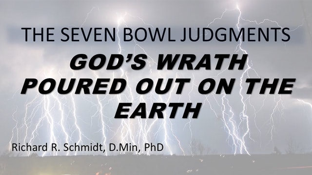 The 7 Bowl Judgements - Bowl 1: Painful Sores On All Followers Of Antichrist