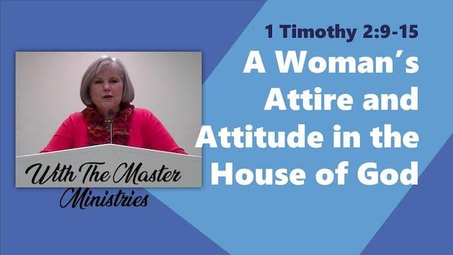 A Woman's Attire And Attitude In The ...