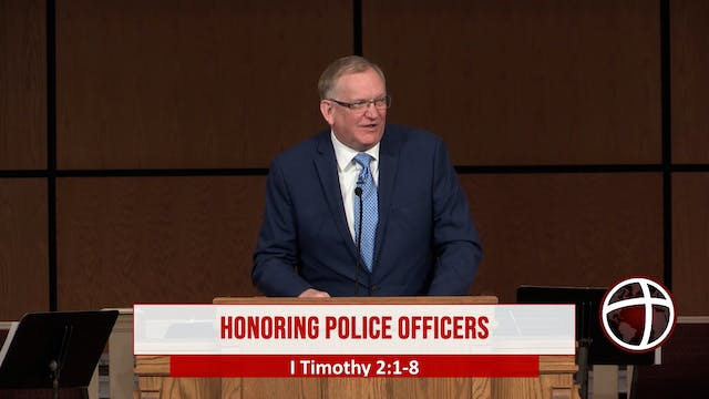 """At Calvary """"Honoring Police Officers"""""""