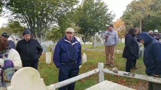 "Our Christian Heritage ""On Location"" - Grave Site Of Adoniram Judson"