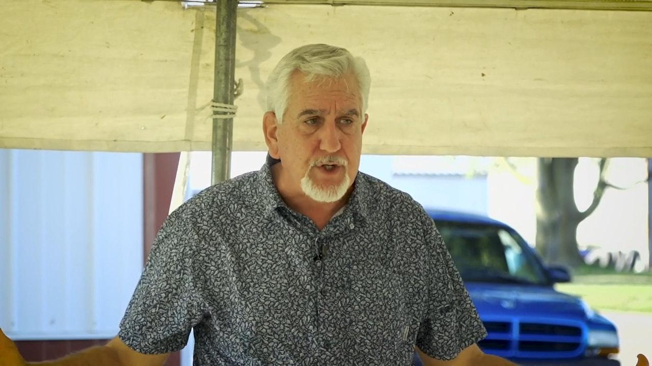 Tent Meeting with Harold Vaughan