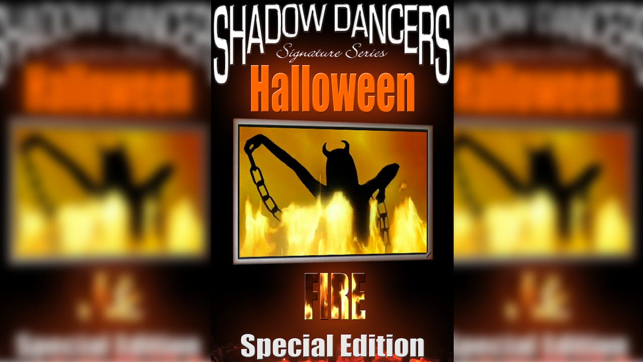 Halloween Fire Party Video - Shadow Dancers Visual