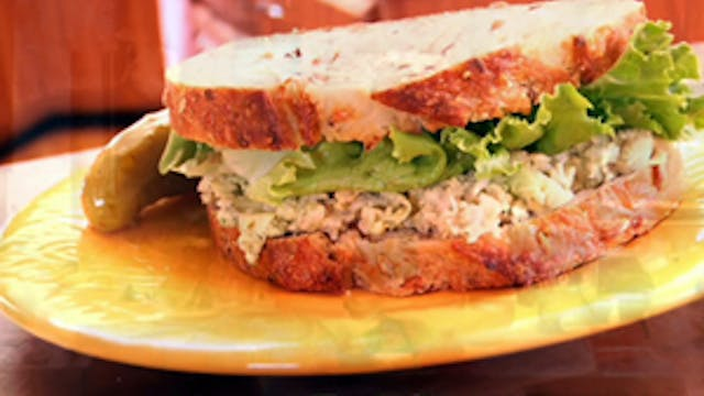 Chickpea of the Sea Sandwich