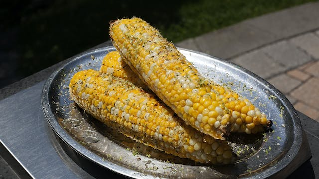 Mediterranean Seasoned Grilled Corn