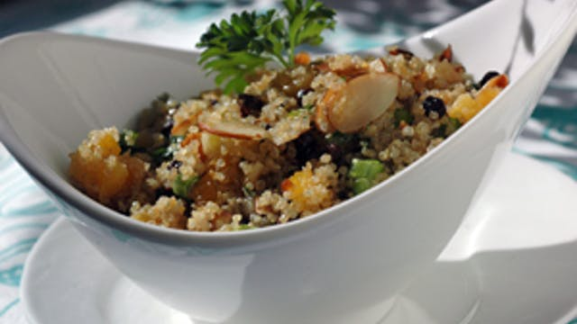 Festive Fruit n Nut Quinoa