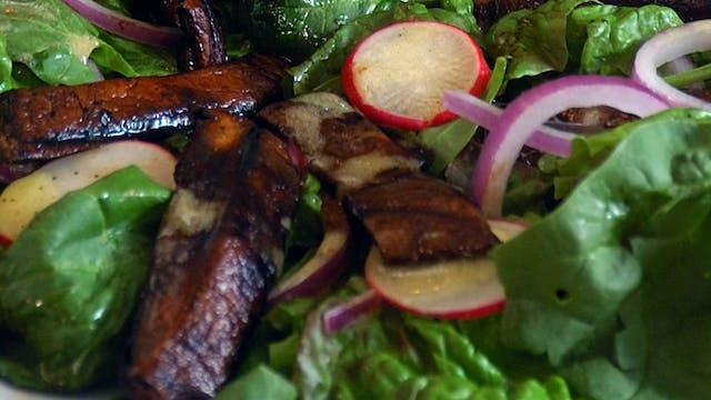 Portobello Steak Salad