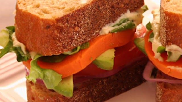 Yam Sandwich