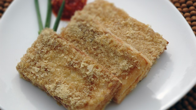 Crispy Seared Tofu