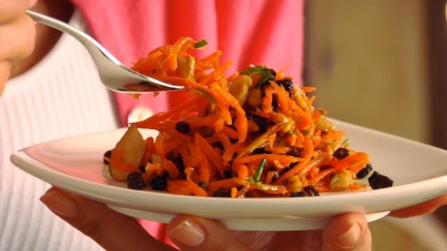 Fruit n Nut Carrot Salad