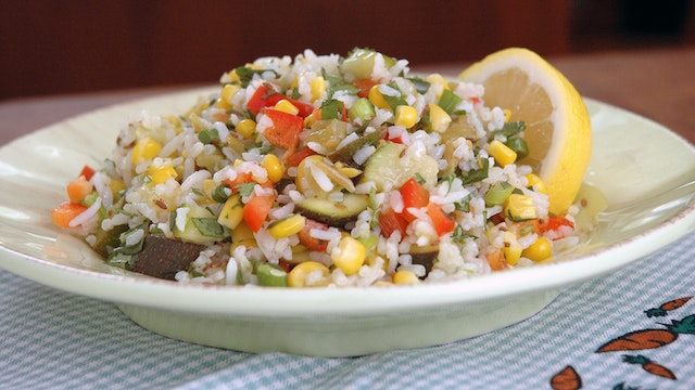 Tex Mex Rice Salad