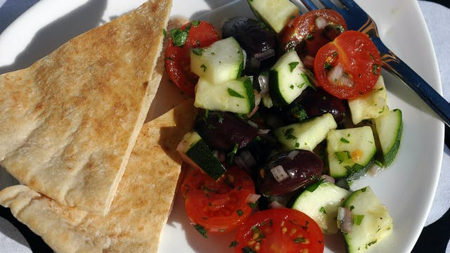 Zucchini and Tomato Salad