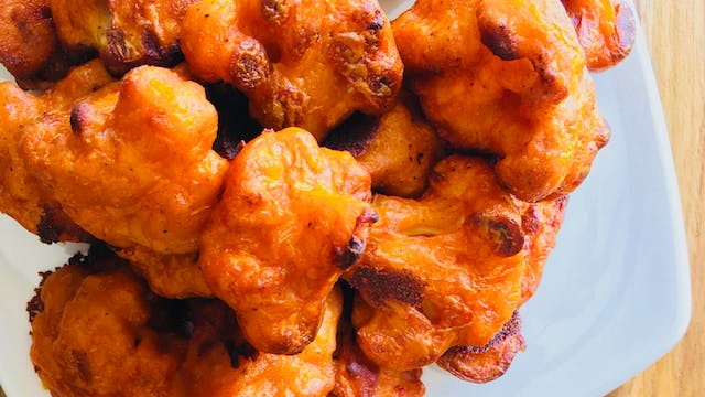 Killer Cauliflower Buffalo Wings