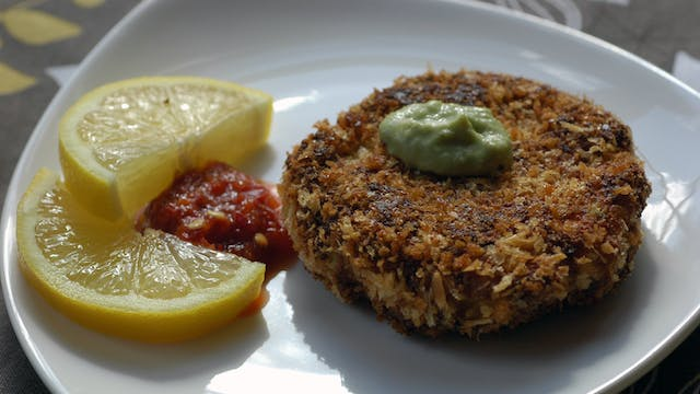 Tofu Veggie Patty
