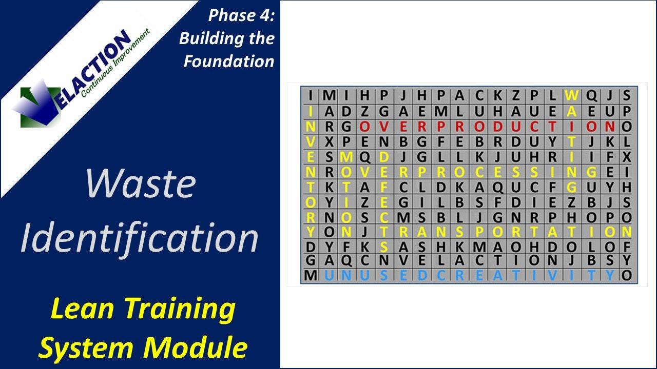 Waste Identification (Training Module Video)